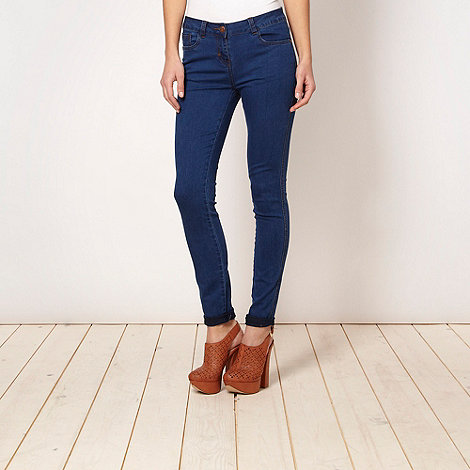 Red Herring - Blue +Holly+ super skinny jeans