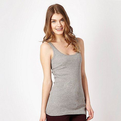 Red Herring - Grey jersey vest