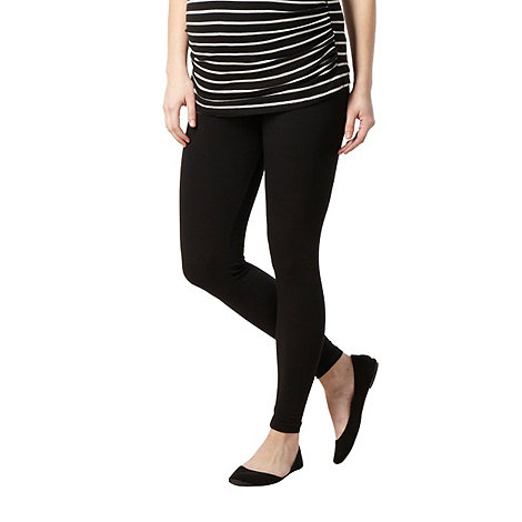 Red Herring Maternity - Black over the bump maternity leggings