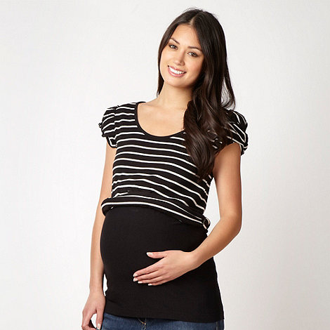 Red Herring Maternity - Black maternity bump band