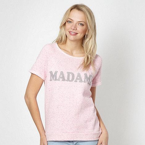 Red Herring - Pink +Madame+ sweat top