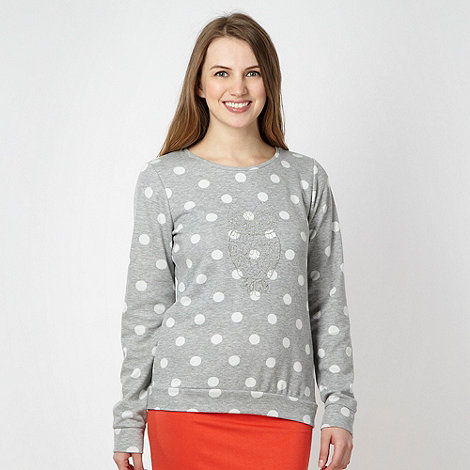 Red Herring - Grey spotted owl sweat top