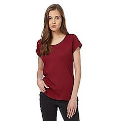 Red Herring - Dark red relaxed t-shirt