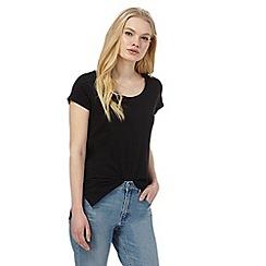 Red Herring - Black relaxed t-shirt