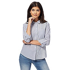 Red Herring - Light blue striped shirt