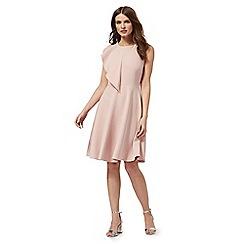 Red Herring - Light pink ruffled dress