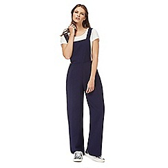 Red Herring - Navy bib jumpsuit