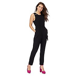 Red Herring - Black button jumpsuit