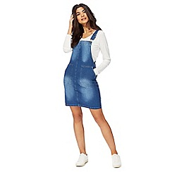 Red Herring - Blue denim pinny