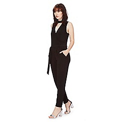 Red Herring - Black choker jumpsuit