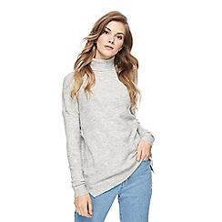 Noisy may - Grey roll neck jumper