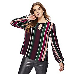 Red Herring - Multi-coloured striped top