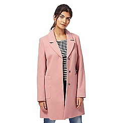 Red Herring - Pink 'Modern City' coat