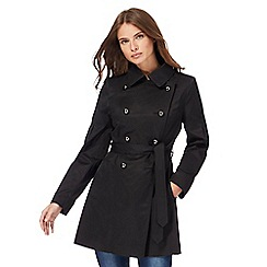 Red Herring - Black mac coat