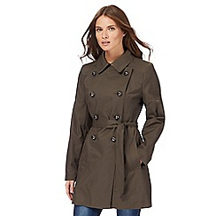 Red Herring - Khaki mac coat