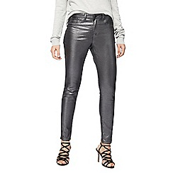 Red Herring - Silver metallic 'Holly' skinny jeans