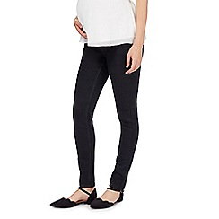 Red Herring - Black maternity skinny jeans