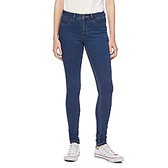 Noisy may - Dark blue 'Lucy' slim jeans