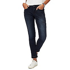 Red Herring - Blue 'Holly' skinny dark wash ankle grazer jeans