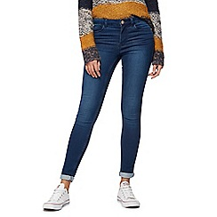 Noisy may - Dark blue 'Lucy' destroyed jeans