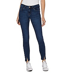 Noisy may - Dark blue 'Lucy' skinny jeans