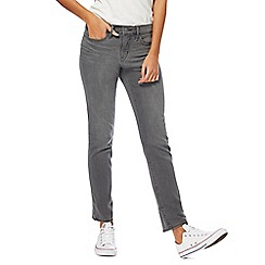 Levi's - Grey mid-wash slim jeans