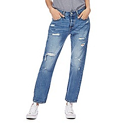 Levi's - Blue '501' tapered leg jeans