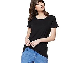 Red Herring - Black crew neck t-shirt