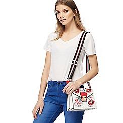 Red Herring - White V neck t-shirt