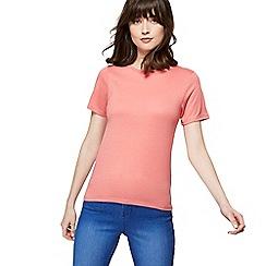 Red Herring - Pink crew neck t-shirt