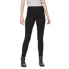Red Herring - Black 'Heidi' high waisted skinny jeans