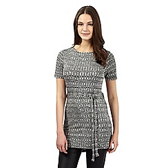 Red Herring - Dark grey check tunic