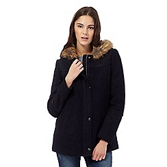 Red Herring - Navy wool blend duffel coat
