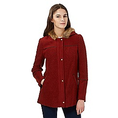 Red Herring - Brown wool blend coat
