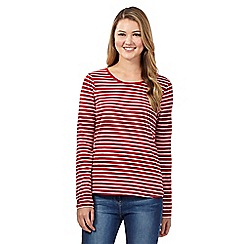 Red Herring - Red striped tee