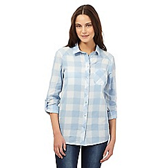Red Herring - Light blue checked shirt