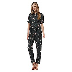 Red Herring - Multi-coloured floral print jumpsuit