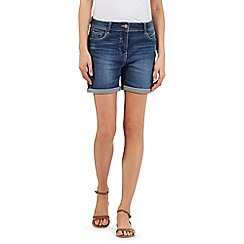 Red Herring - Dark blue denim shorts