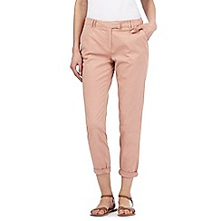 Red Herring - Pink ankle grazer chinos