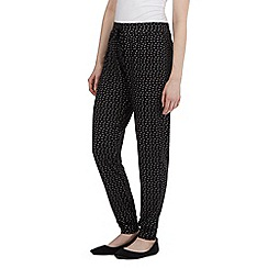 Red Herring - Back zig zag jersey trousers