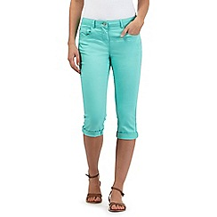 Red Herring - Light green skinny fit 'Lulu crop' cropped jeans