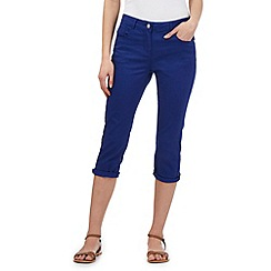 Red Herring - Blue 'Lulu' cropped skinny jeans