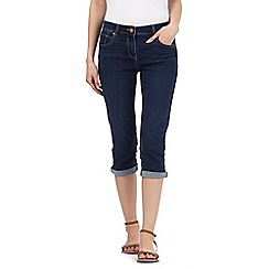 Red Herring - Blue vintage wash 'lulu' cropped jeans