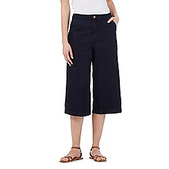 Red Herring - Navy denim culottes
