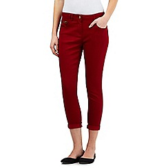 Red Herring - Red 'Holly' ankle grazer jeans
