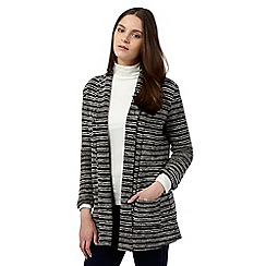 Red Herring - Grey striped textured jacket