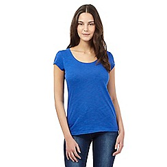 Red Herring - Blue scoop neck t-shirt