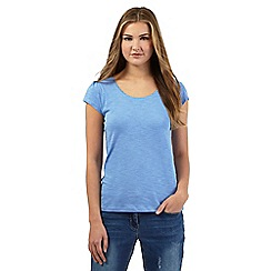 Red Herring - Pale blue scoop neck t-shirt
