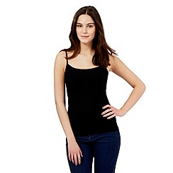 Red Herring - Black cami top