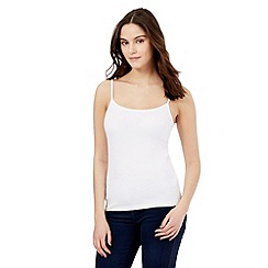 Red Herring - White cami top
